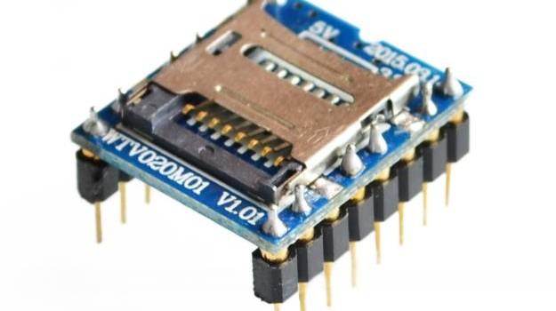 Kaotični windows modul WTV020-SD-16P