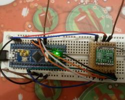 RFM69 – STM32 – Raspberry pi gateway – UKHASnet @ 868MHz